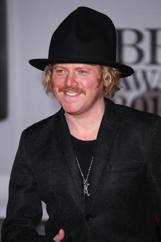 Leigh Francis pictured at the Brit Awards 2014. (Invision/AP)