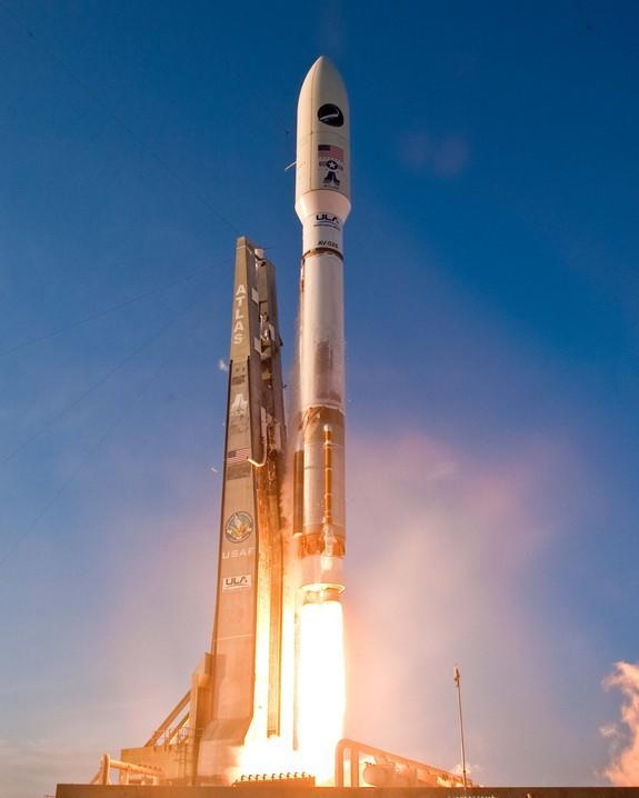 A United Launch Alliance Atlas 5 rocket is used to loft the Air Force's X-37B missions. The robotic space plane supports space experimentation, risk reduction, and concept of operations development for long duration and reusable space vehicle t