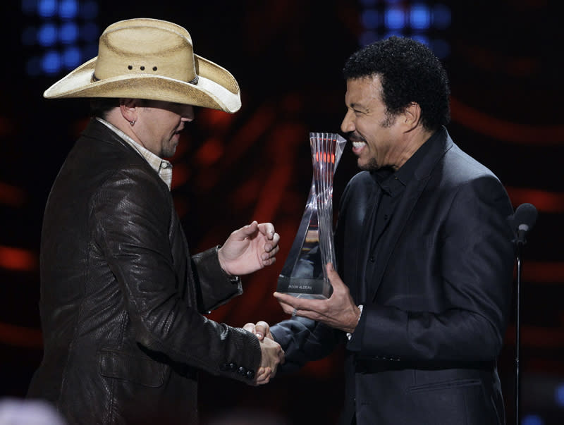 Lionel Richie and Jason Aldean, 2011 CMT Artists of the Year Awards, Nashville, TN