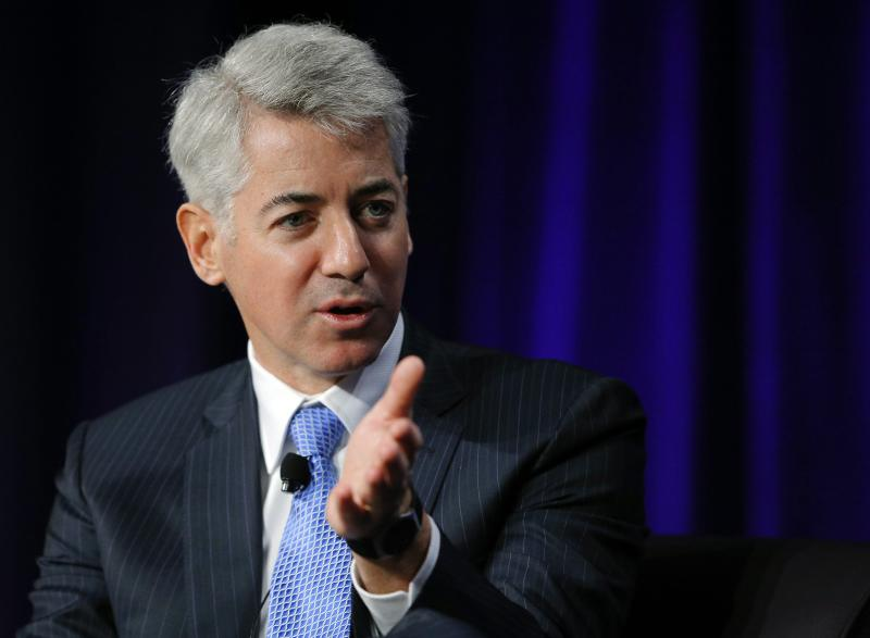 File photo of William Ackman, CEO of Pershing Square Capital Management, speaking at the Partner Connect 2013 conference in Boston