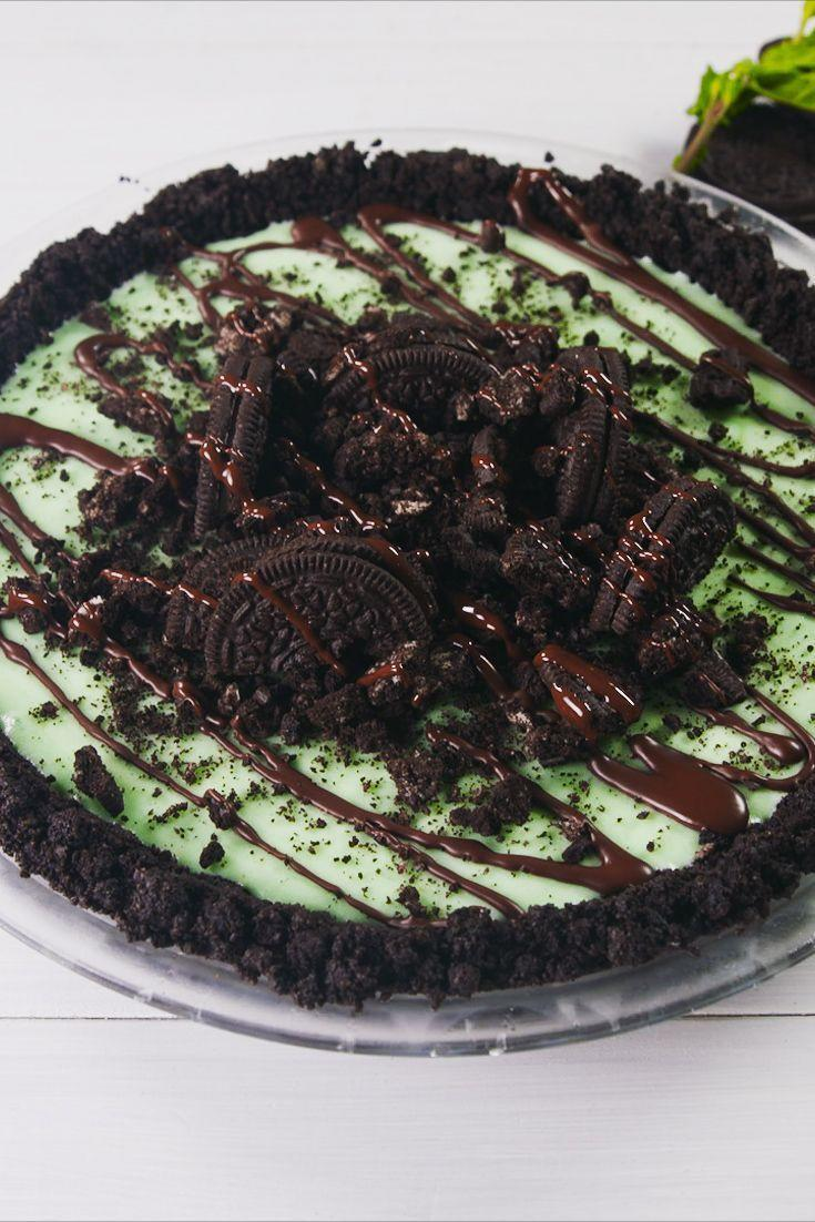 "<p>Oreo crust? Don't mind if we do. </p><p><em><a href=""https://www.delish.com/cooking/recipe-ideas/a21098041/frozen-grasshopper-pie-recipe/"" rel=""nofollow noopener"" target=""_blank"" data-ylk=""slk:Get the recipe from Delish »"" class=""link rapid-noclick-resp"">Get the recipe from Delish »</a></em></p>"