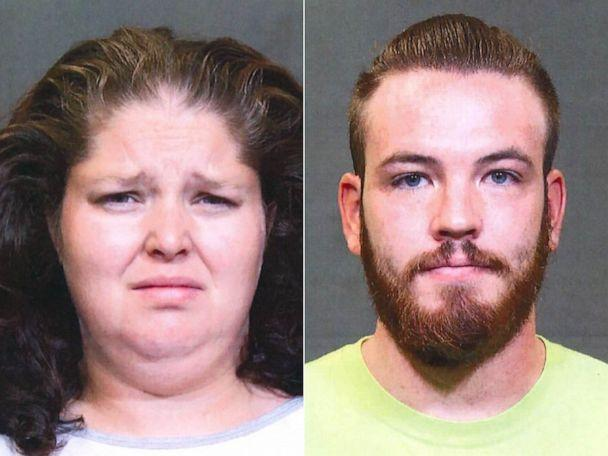 PHOTO: Emma Dietrich and Joshua Tennant in police booking photos.  (Columbus Ohio Police)