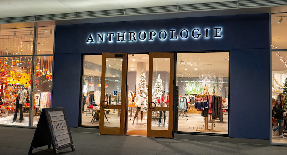 Anthropologie is having a huge sale on sale