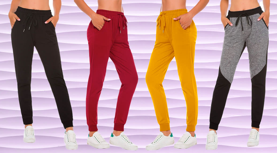 Take a look at the pair of cool joggers that will make you trade in your leggings! (Photo: Amazon)