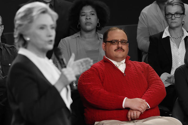 Public Service Announcement: Ken Bone's Red Izod Sweater, Is, In ...