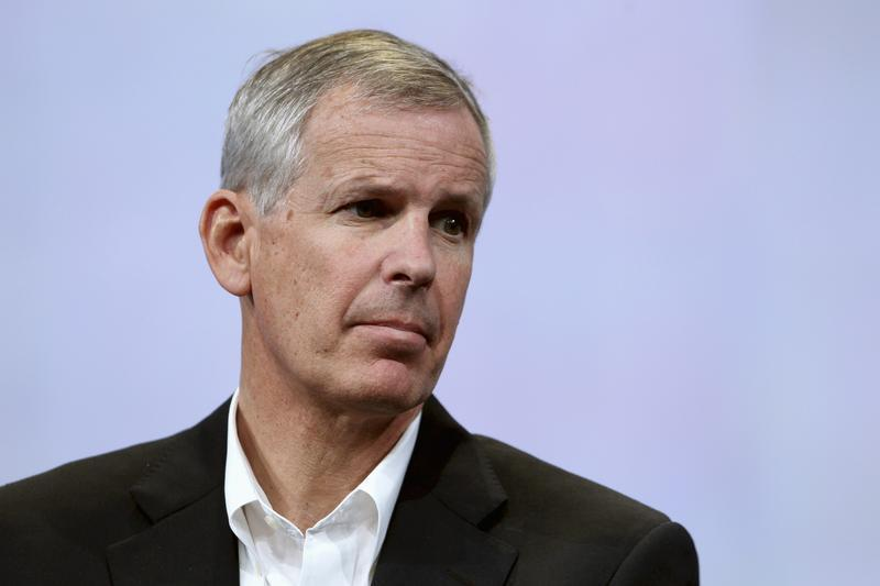 Dish Network Chairman Charlie Ergen attends the Google's annual developers conference in San Francisco