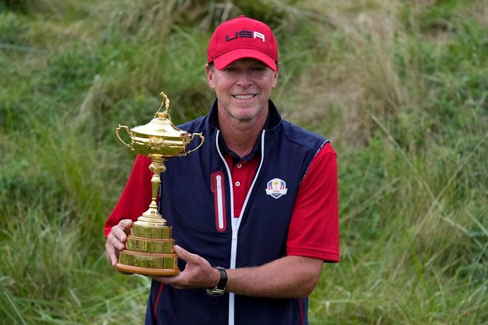 Steve Stricker has ruled out a second spell as US Ryder Cup captain (Ashley Landis/AP) (AP)