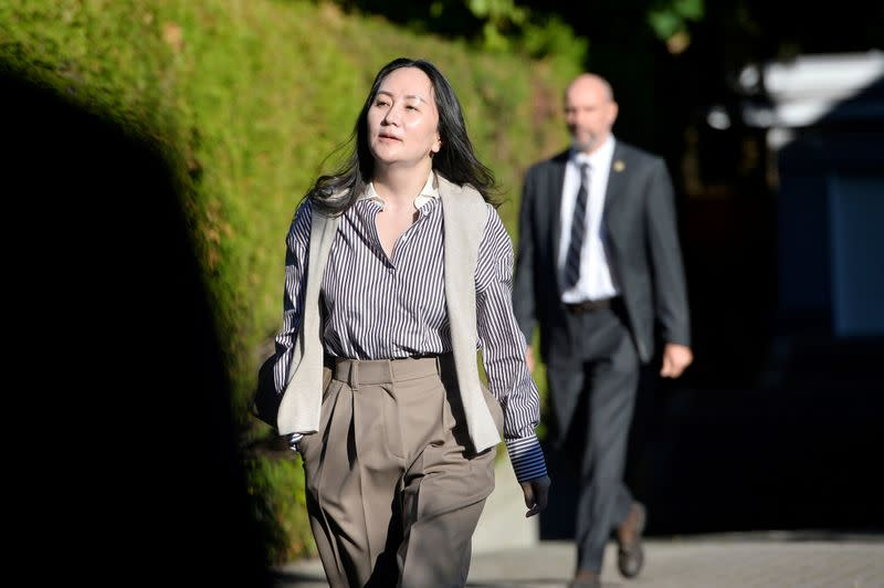 Huawei CFO lawyers say Trump's comments have tainted U.S. extradition case