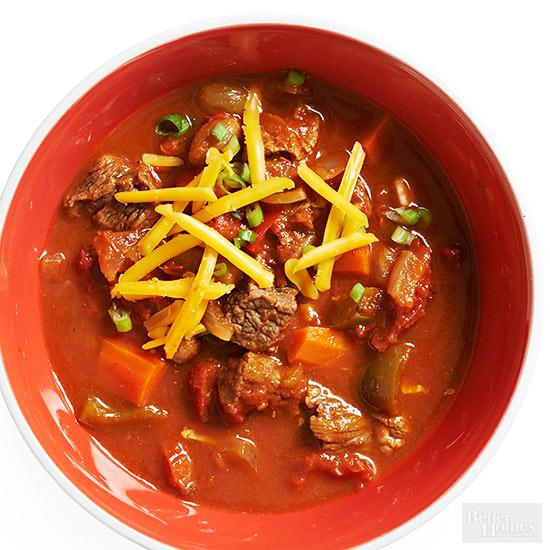 Make-Ahead Two-Tomato and Chile Stew