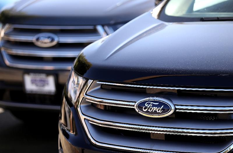 "Ford blamed ""external headwinds"" including high commodity costs and unfavorable exchange rates for the weaker 2018 forecast, which sees adjusted earnings falling to $1.45 to $1.70 per share"