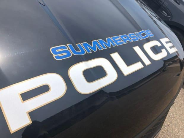 Summerside police arrested a man at a motel after they say he backed into a police cruiser and sped away. (Brian Higgins/CBC - image credit)