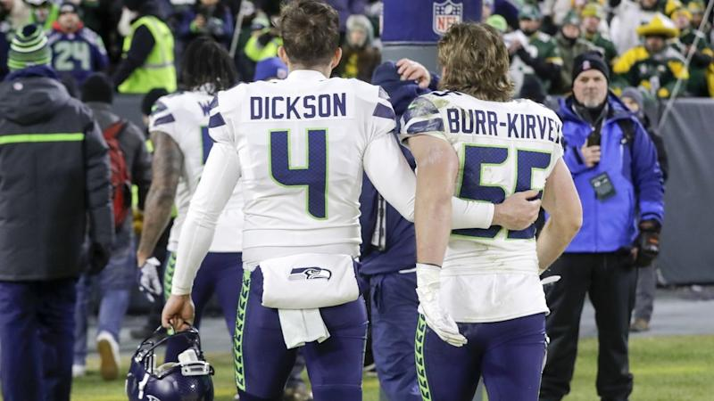 The Super Bowl hopes of Seattle Seahawks' Michael Dickson are over for this season