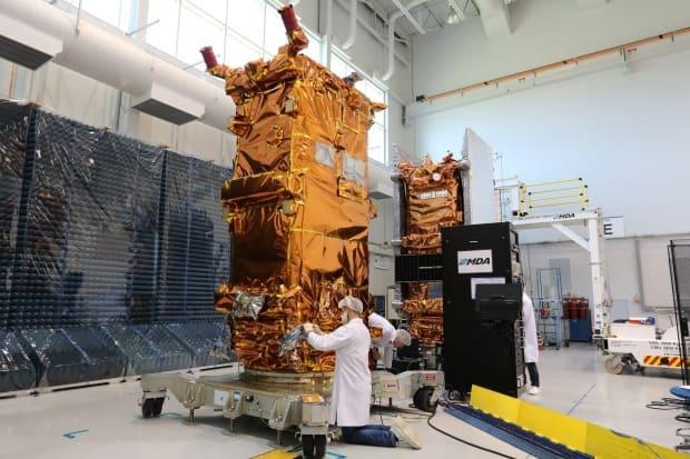 The $1.2-billion RADARSAT Constellation system, which is owned by the Canadian government, was launched in 2019. The three-satellite system is among the equipment used to detect illegal fishers.