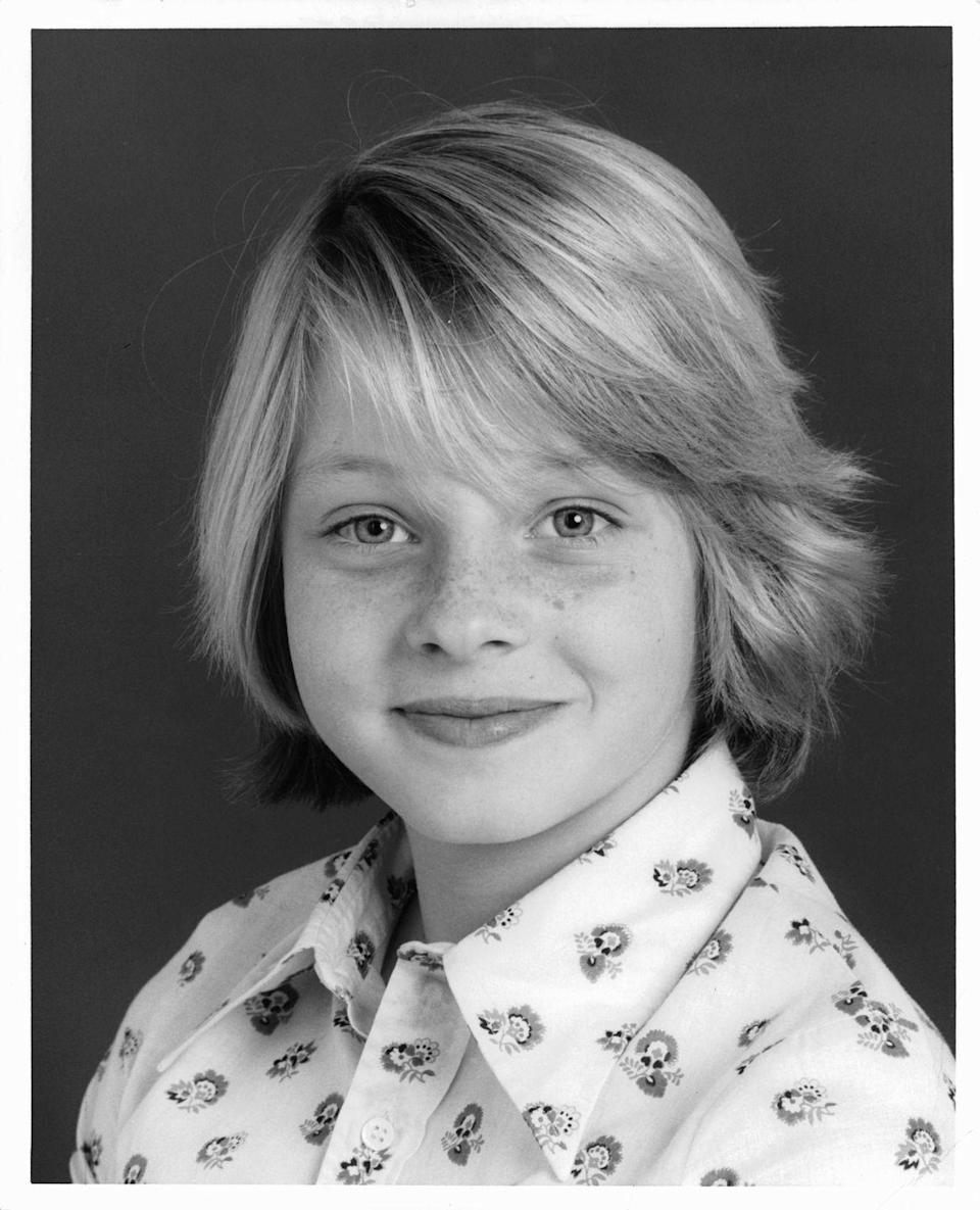 <p>Jodie Foster emerged on the scene as a child actor on the television show <em>Menace on the Mountain</em> in 1970. A few years later, she starred in her first feature film called <em>Napoleon and Samantha, </em>and began working with Disney studios.</p>