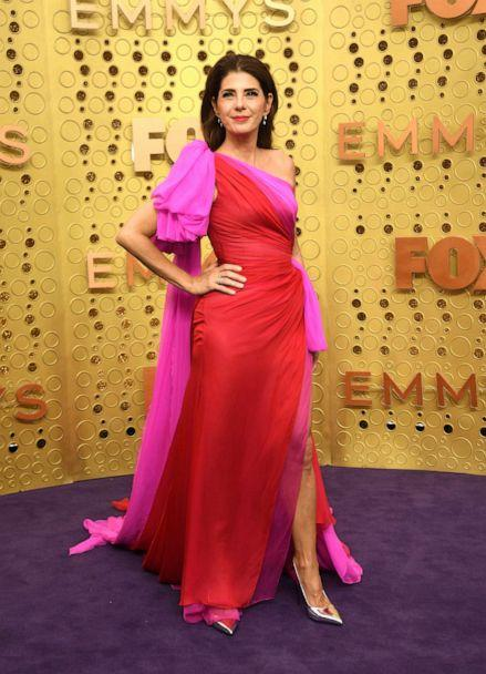 PHOTO: US actress Marisa Tomei arrives for the 71st Emmy Awards at the Microsoft Theatre in Los Angeles on September 22, 2019. (Valerie Macon/AFP/Getty Images)