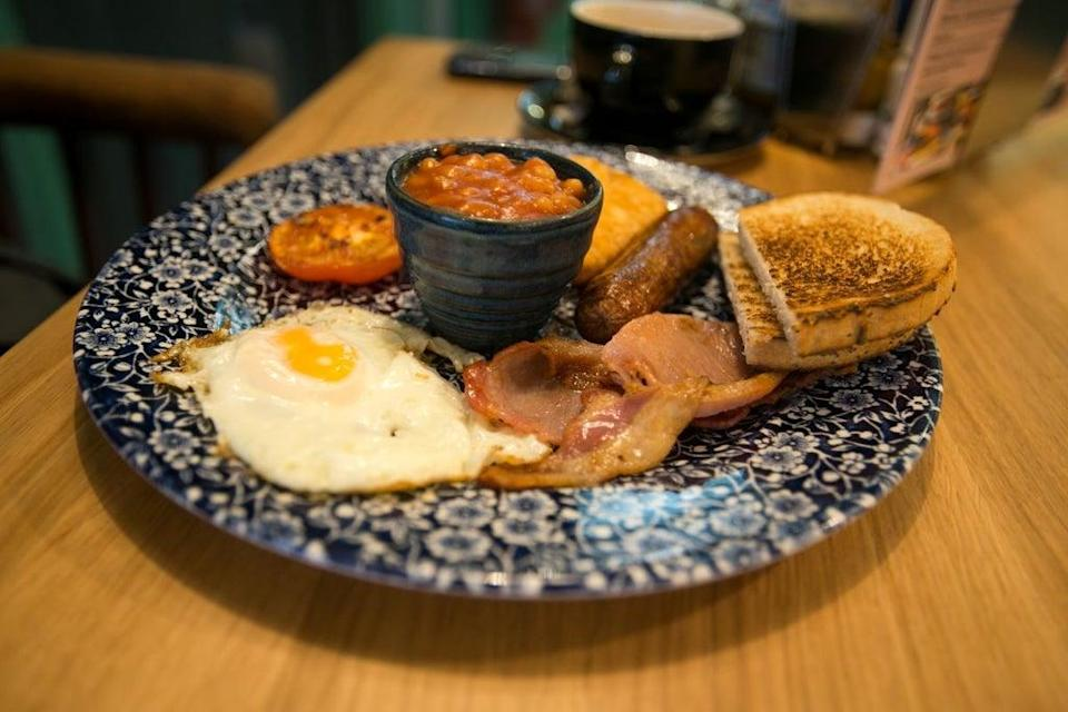 Wetherspoons was hit with a bread shortage which affected some of their breakfast options (PA Images)