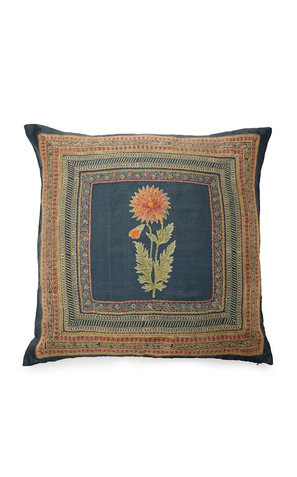 """<p><strong>Marigold Living</strong></p><p>modaoperandi.com</p><p><strong>$460.00</strong></p><p><a href=""""https://go.redirectingat.com?id=74968X1596630&url=https%3A%2F%2Fwww.modaoperandi.com%2Fmarigold-living-ss19%2Fdahlia-embroidered-silk-pillow&sref=http%3A%2F%2Fwww.elledecor.com%2Fshopping%2Fg28213421%2Fmoda-operandi-marigold-living-block-print-pillows%2F"""" target=""""_blank"""">Shop Now</a></p><p>The rich terra cotta tones and mix of patterns make this pillow a statement piece for any room. </p>"""