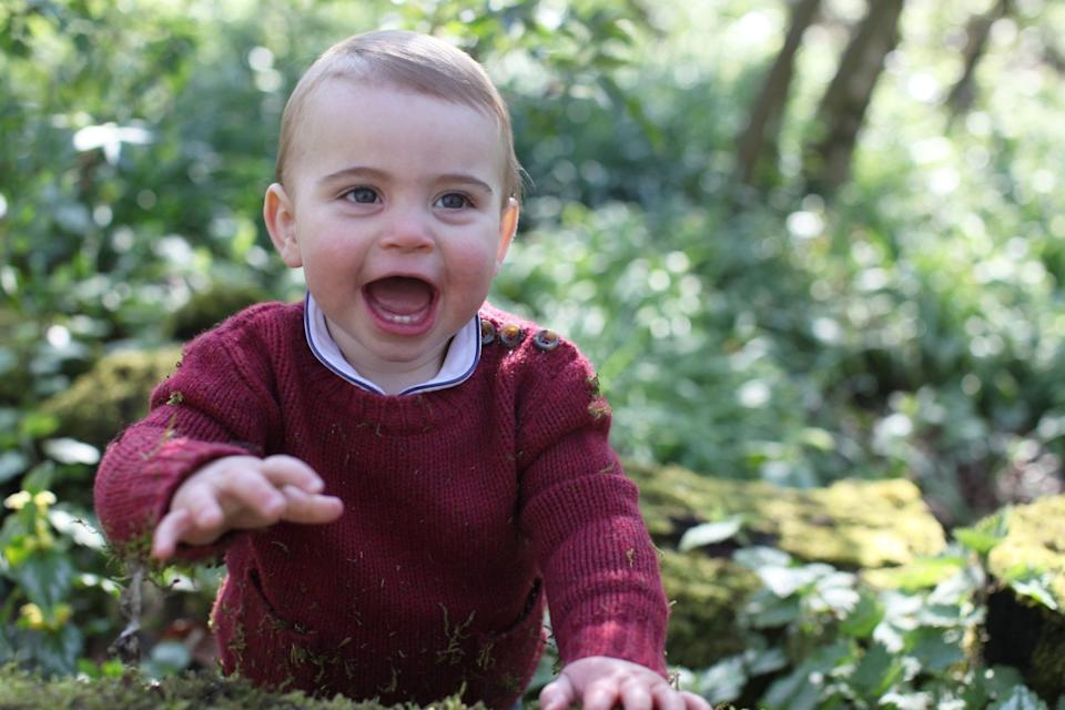 Prince Louis in 2019 (HRH The Duchess of Cambridge )