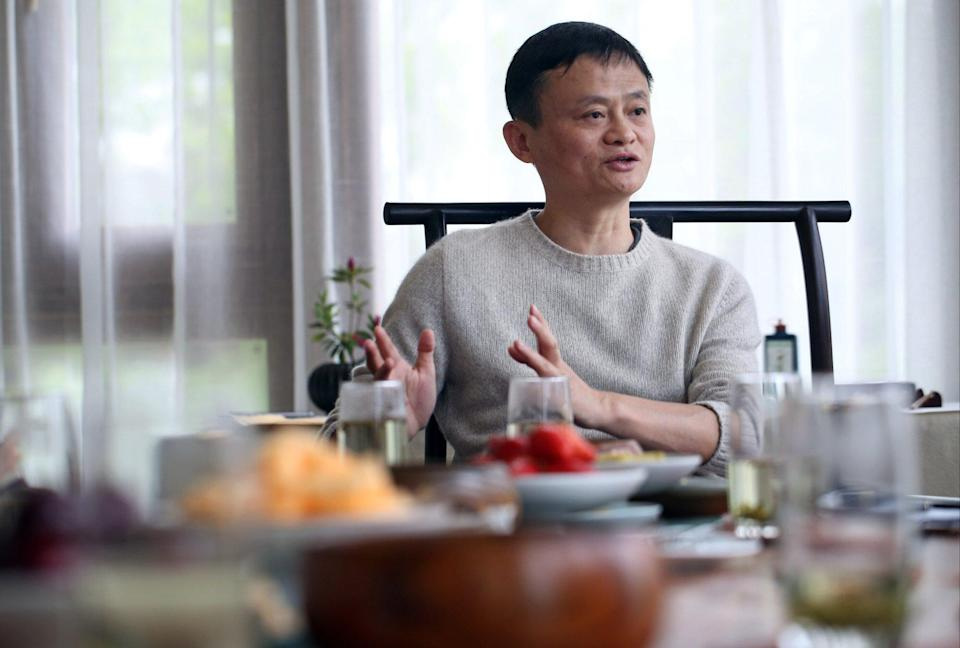 Jack Ma, billionaire founder of Alibaba, speaks to the South China Morning Post in Hangzhou, Zhejiang, on March 29, 2016. Photo: Sam Tsang