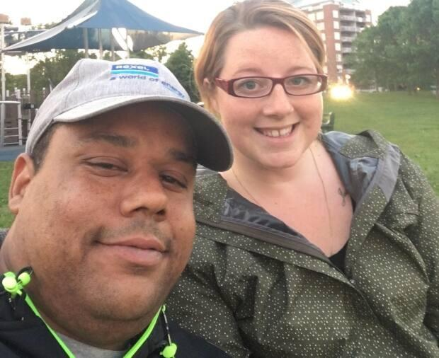 Greg Dean (left) and Cyndi Rafuse said their camping trip last August was spoiled by a racist threat involving a noose.  (Greg Dean and Cyndi Rafuse - image credit)