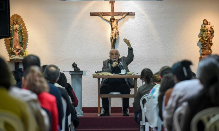 Ultra-conservatives like Rafael Arango, leader of the Belen congregation, believe that Francis denies the existance of hell and is too indulgent of homosexuality and the role of women in the church