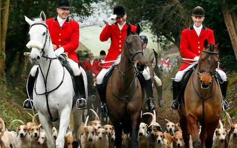 The Old Surrey Burstow and West Kent switched to chasing a laid scent after the 2005 ban - Credit: Luke MacGregor