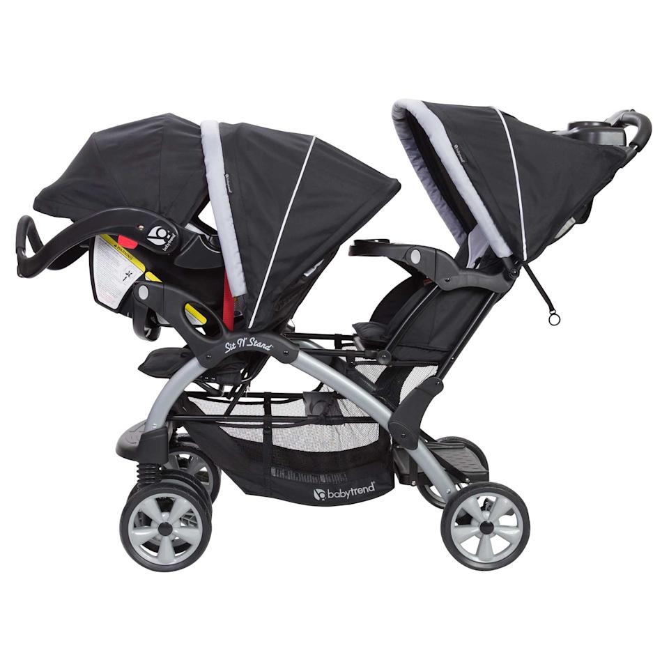 The brand is Baby Trend, but this is no passing fancy -- it's a genius transport solution for the ages. (Photo: Walmart)