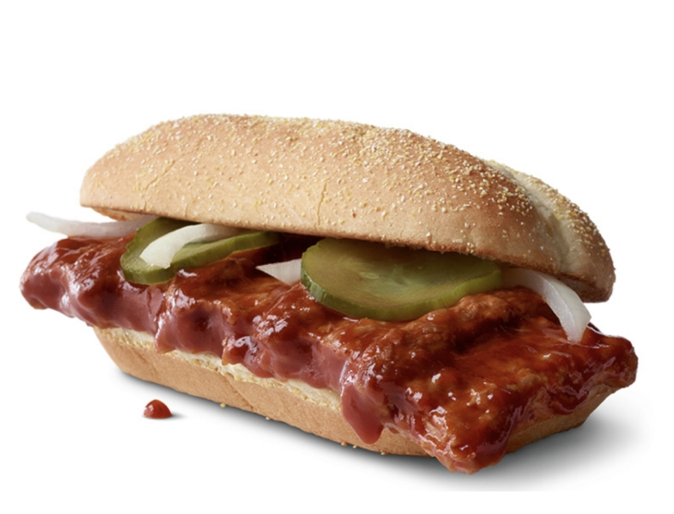 The McRib returned in December to much fanfare.
