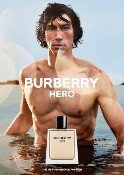 PHOTO: Burberry's latest Hero fragrance campaign features actor Adam Driver, and fans are obsessed. (courtesy of Burberry, Mario Sorrenti)