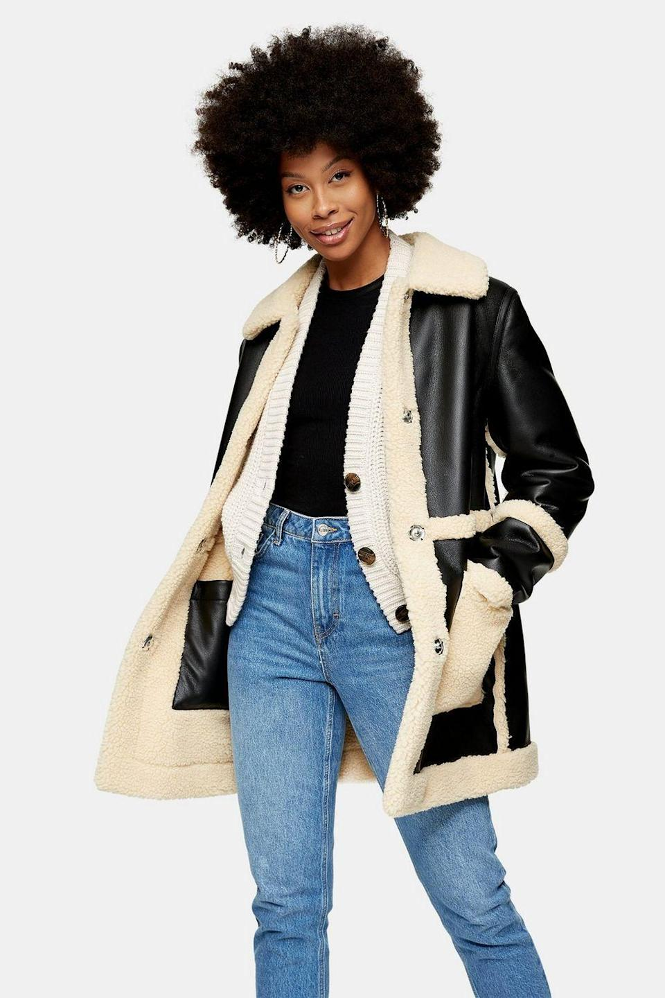 """<p><strong>Topshop</strong></p><p>topshop.com</p><p><strong>$150.00</strong></p><p><a href=""""https://go.redirectingat.com?id=74968X1596630&url=https%3A%2F%2Fus.topshop.com%2Fen%2Ftsus%2Fproduct%2Ftallraven-reverse-borg-9754114&sref=https%3A%2F%2Fwww.cosmopolitan.com%2Fstyle-beauty%2Ffashion%2Fg30256598%2Ffashion-trends-2020%2F"""" rel=""""nofollow noopener"""" target=""""_blank"""" data-ylk=""""slk:Shop Now"""" class=""""link rapid-noclick-resp"""">Shop Now</a></p><p>Yep, this jacket is a must-have. And what makes it even better? It's reversible!</p>"""