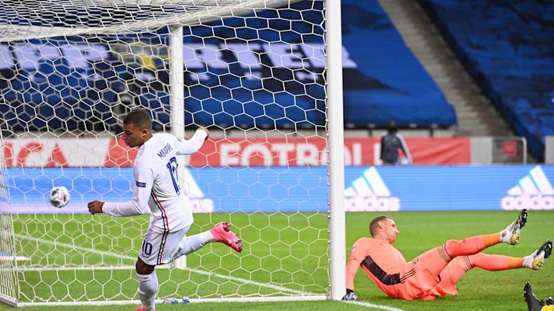 Mbappé magic gives France narrow Nations League win over Sweden