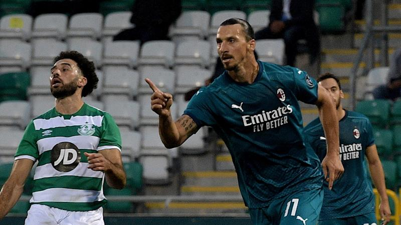 'Ibrahimovic was like a ghost' - Milan star dictated the game against Shamrock Rovers, says Bryne