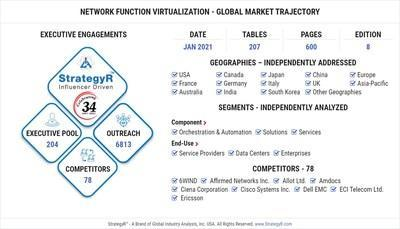 Global market for the virtualization of network functions