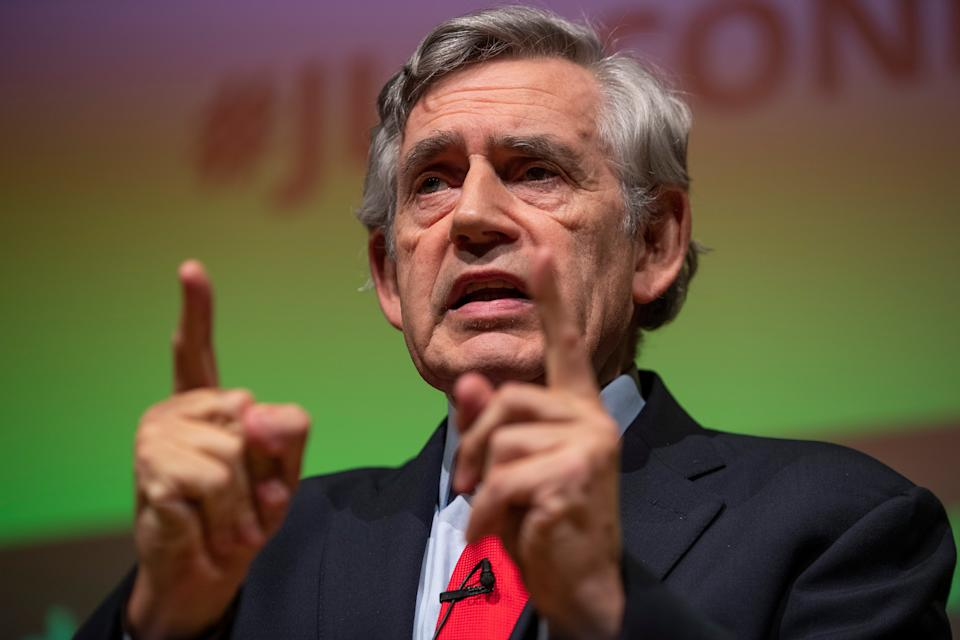 <p>Gordon Brown is against Scottish independence</p> (Getty Images)