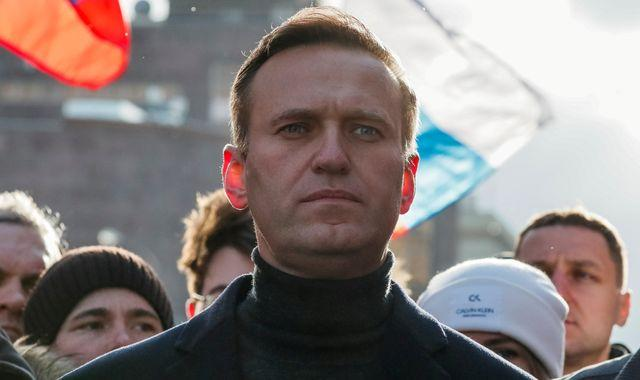 Alexei Navalny: Putin critic out of induced coma and 'responding to speech' after poisoning
