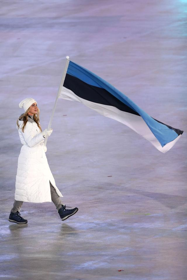 <p>The 23-year-old already owns many of the national speed skating records in her native Estonia. (Getty) </p>