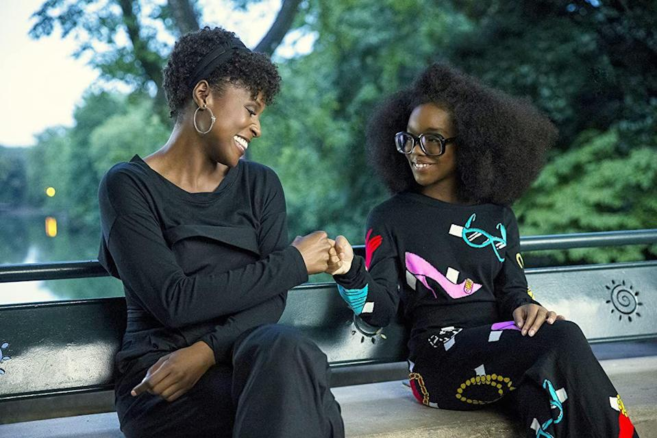 "<p><strong>Cast: </strong>Marsai Martin, Issa Rae, Regina Hall, Justin Hartley</p><p><em>Little </em>follows a ruthless, cruel tech CEO who magically turns into a 13-year-old version of herself. Now, she must rely on the help of her assistant April, who she tormented when she wasn't so...little. Star Marsai Martin was Hollywood's youngest ever executive producer with the premiere of this movie.</p><p><a class=""link rapid-noclick-resp"" href=""https://play.hbomax.com/feature/urn:hbo:feature:GXXKTRgCVeRySmAEAAAoA?camp=googleHBOMAX&action=play"" rel=""nofollow noopener"" target=""_blank"" data-ylk=""slk:Watch Now"">Watch Now</a></p>"