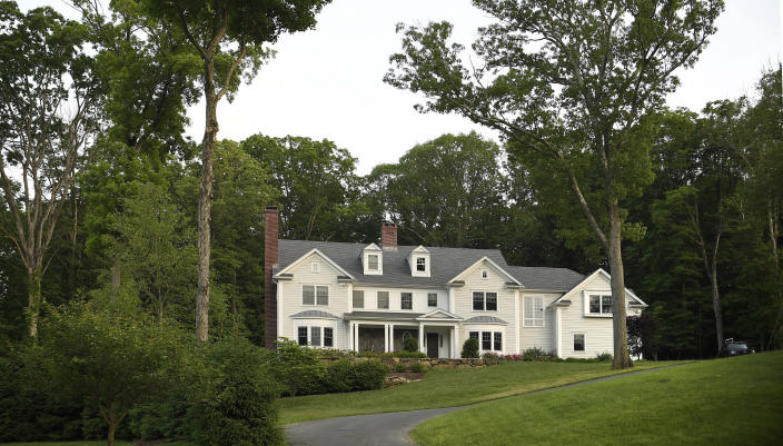 Jennifer Dulos' home in New Canaan, Conn., June 3, 2019. (Jessica Hill/The New York Times)