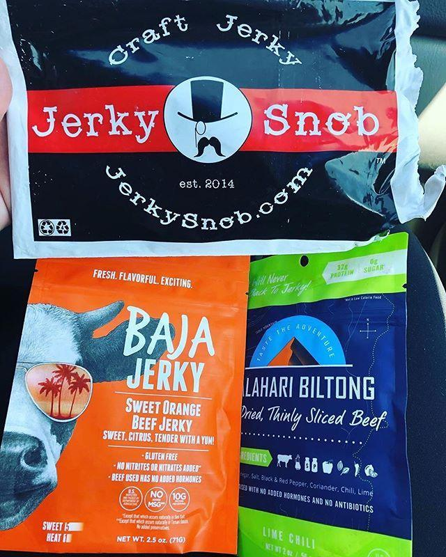 """<p><strong>Best for carnivores</strong></p><p>No introduction necessary for this subscription box! With Jerky Snob, you'll receive a variety of flavored jerky every month. </p><p>Sure, you can buy a bag of teriyaki beef jerky at just about any corner store, but this subscription box offers a range of only the highest-quality jerky (no MSG, nitrates, nitrites, or high-fructose corn syrup).</p><p>Look out for interesting picks like South African biltong and artisan smoked honey turkey jerky.</p><p><strong>Price: </strong>Starts at $15/month</p><p><a class=""""link rapid-noclick-resp"""" href=""""https://www.jerkysnob.com/subscribe/"""" rel=""""nofollow noopener"""" target=""""_blank"""" data-ylk=""""slk:CHECK OUT JERKY SNOB"""">CHECK OUT JERKY SNOB</a></p><p><a href=""""https://www.instagram.com/p/CAIcJ81pOsO/"""" rel=""""nofollow noopener"""" target=""""_blank"""" data-ylk=""""slk:See the original post on Instagram"""" class=""""link rapid-noclick-resp"""">See the original post on Instagram</a></p>"""