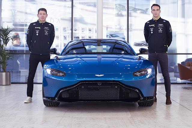 Ex-Ford drivers fill vacant Aston '20 Le Mans seats