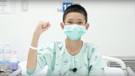"<p>The 12 rescued Thai soccer players and their coach were seen in good spirits in July 13 footage taken at a Chiang Rai hospital, where they were receiving treatment.</p><p>In the video, the boys from the Wild Boars soccer team thank those who rescued them and say they can't wait to go home and share the foods they are looking forward to eating, including fried crispy pork, sushi, steak and <span class=""caps"">KFC</span>, according to translations provided by <a href=""https://www.chiangraitimes.com/video-12-wild-boars-footballers-give-thanks-say-they-crave-food-cant-wait-to-go-home-next-week.html"" target=""_blank"">Chiang Rai Times</a>.</p><p>A former Navy <span class=""caps"">SEAL</span> diver, Saman Gunan, died on July 6 during the rescue operation. The boys learned about his death on  <a href=""https://www.channelnewsasia.com/news/asia/thai-boys-rescued-from-cave-in-tears-mourn-diver-who-died-10532282"" target=""_blank"">July 14</a>, after medics deemed them mentally strong enough to handle the news.</p><p>The Wild Boars and their coach were rescued on July 10, more than two weeks after becoming trapped in a cave on June 23. Credit: Thai Ministry of Public Health via Storyful</p>"
