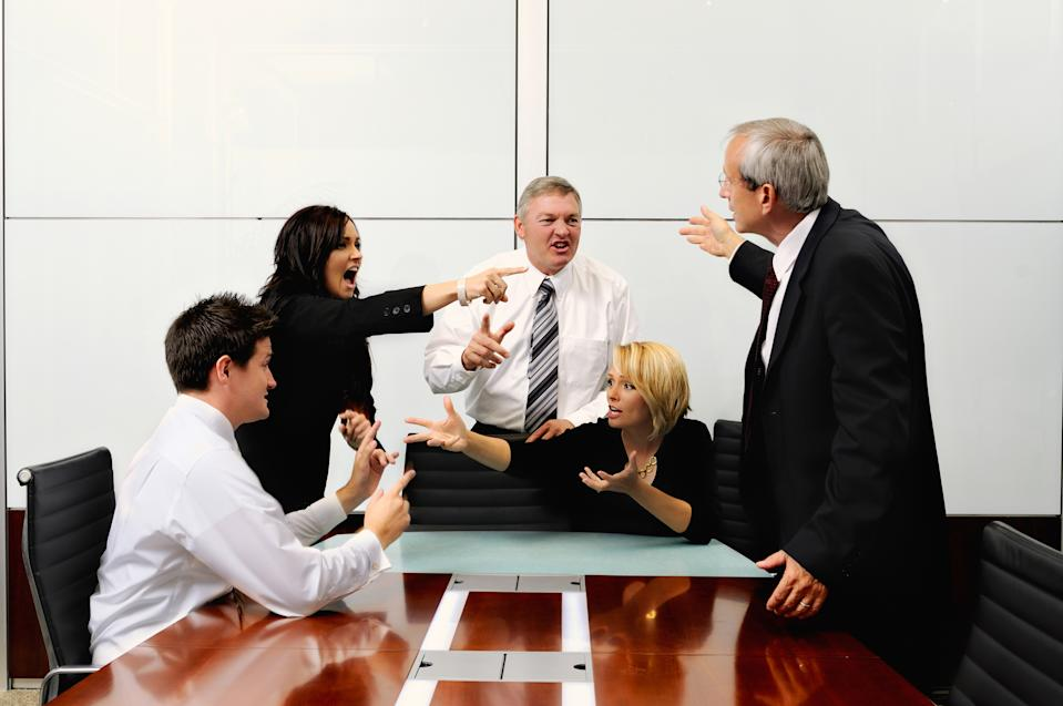 Healthy debate can make your team stronger. (Source: Getty)