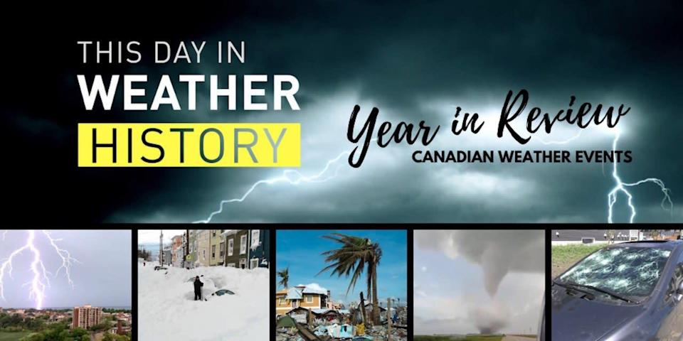 Record hail, deadly tornado & towering snow define Canada's 2020 weather