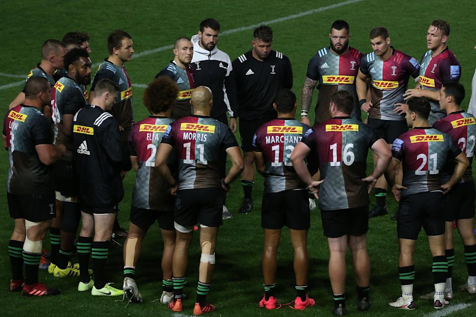 <p>Harlequins begin the 2020/21 Premiership season against Exeter Chiefs on Friday night</p> (Getty Images for Harlequins)