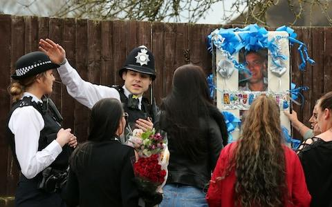 Police address friends and relatives of Henry Vincent - Credit: Gareth Fuller/PA