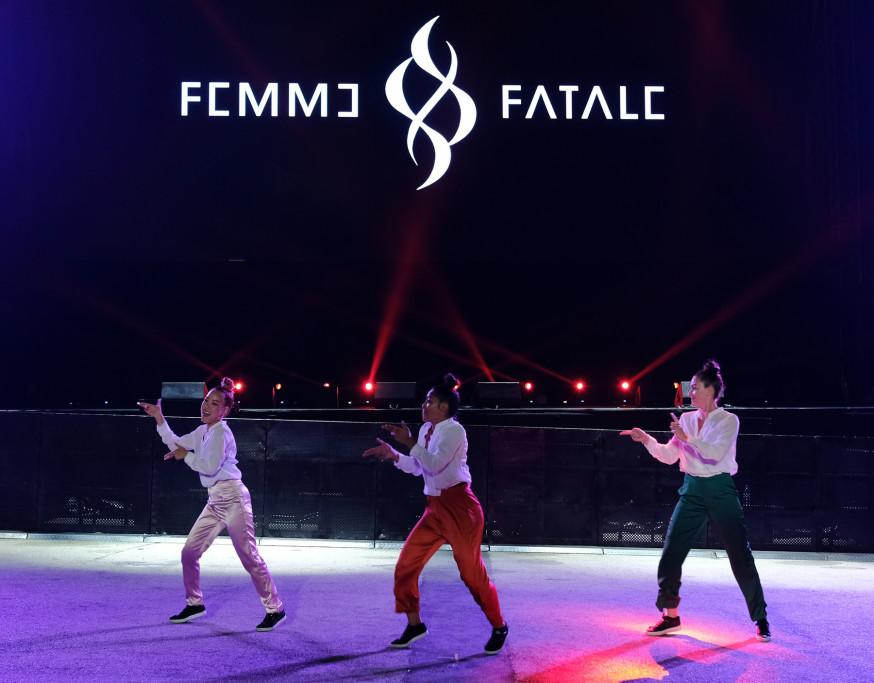 Femme Fatale performing at Singapore F1. (PHOTO: Singapore GP)