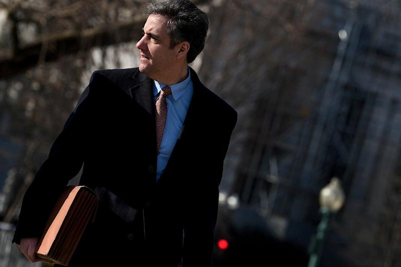 President Trump says former attorney Cohen lied, asked for a pardon