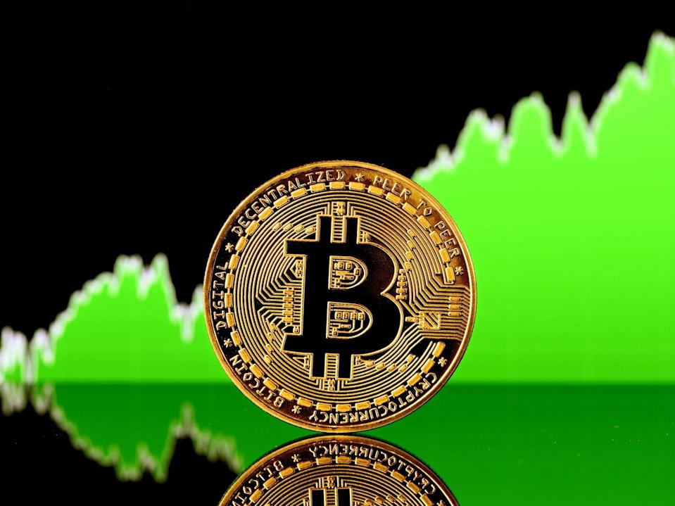 The price of bitcoin returned above $40,000 on Monday, 14 June 2021 (Getty Images)
