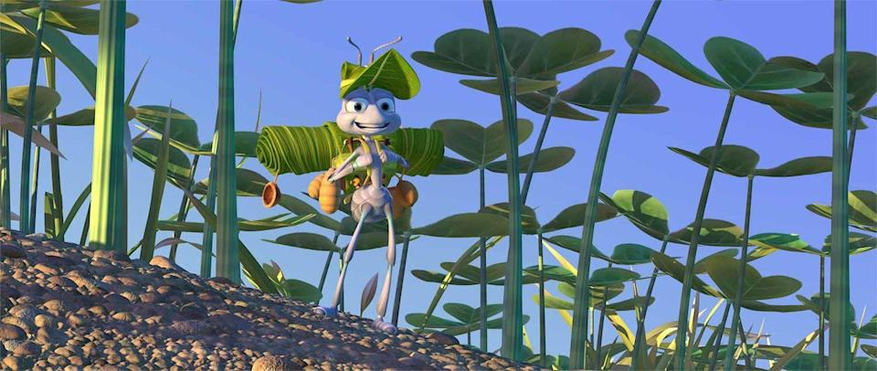 "<p>Pixar's second feature film gets ground-level and follows a young, awkward ant, Flik, as he gets himself into all kinds of trouble. In an unlikely series of events, Flik calls on the help of a bug circus to help defend fellow ants from an evil grasshopper, if you've seen <em>Seven Samurai </em>(or, you know, <em>The Three Amigos</em>, or <em>Galaxy Quest</em>), you can see where the movie is headed long before the climax.<br></p><p><a class=""link rapid-noclick-resp"" href=""https://go.redirectingat.com?id=74968X1596630&url=https%3A%2F%2Fwww.disneyplus.com%2Fmovies%2Fa-bugs-life%2F2kV0c48TF0Ea&sref=https%3A%2F%2Fwww.redbookmag.com%2Flife%2Fg35149732%2Fbest-pixar-movies%2F"" rel=""nofollow noopener"" target=""_blank"" data-ylk=""slk:DISNEY+"">DISNEY+</a> <a class=""link rapid-noclick-resp"" href=""https://www.amazon.com/Bugs-Life-Dave-Foley/dp/B0049IJPX2?tag=syn-yahoo-20&ascsubtag=%5Bartid%7C10063.g.35149732%5Bsrc%7Cyahoo-us"" rel=""nofollow noopener"" target=""_blank"" data-ylk=""slk:AMAZON"">AMAZON</a></p>"