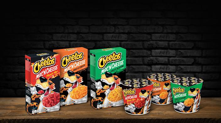 The line will come in three flavors, with both box and instant versions available.